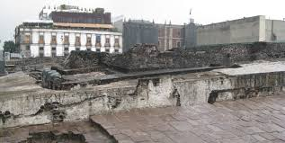 Teotihuacan Map Tenochtitlan