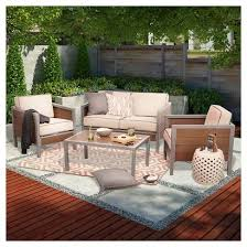 Faux Wood Patio Furniture Arlene Designs - Threshold patio furniture
