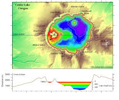 map of oregon near crater lake igor pro geospatial data access and analysis