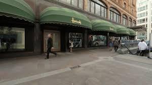 Capital City Awning Harrods London England Hd Stock Video 502 520 002