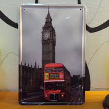 aliexpress mobile global online shopping for apparel phones big ben and bus london style plane metal painting for wall wall sticker home bar pub cafe decor