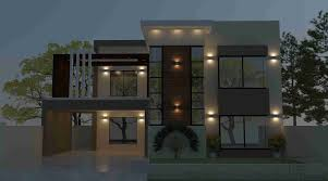 home front design and architectural plan house elevation modern