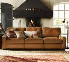 Best 25 Pottery Barn Look Best 25 Pottery Barn Leather Sofa Ideas On Pinterest Living