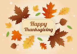 free happy thanksgiving day leaves banner free vector