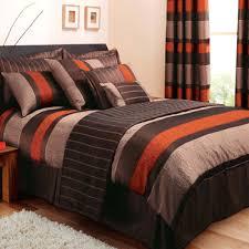orange comforter set queen bright burnt ecfq info