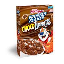 Breakfast Food Cereal Walmart Com by Kellogg U0027s Cinnamon Frosted Flakes Of Corn 26 8 Oz Box Walmart Com