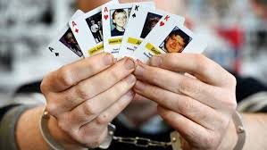 cards featuring murder victims given to sa prisoners in bid