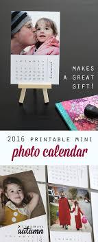 design your own desk calendar free printable 2016 mini diy photo calendar great gift idea photo