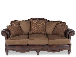 Ashley Clairemore Antique Sofa Mathis Brothers Furniture - Ashley furniture fresno ca