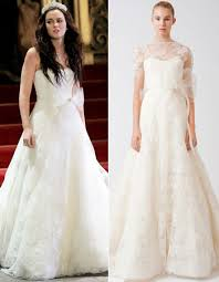 blair wedding dress confirmed blair waldorf s wedding dress designer is vera wang