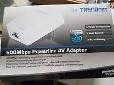 tpl 4052e trendnet single ethernet rj 45 port 1 powerline networking ebay