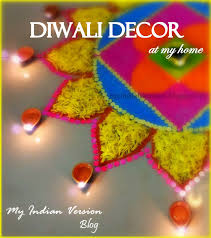 my indian version diwali festival decorations at my home