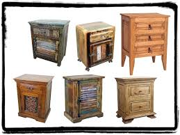 Mexican Rustic Bedroom Furniture Rustic Nightstands An Excellent Option For The Bedroom Mexican