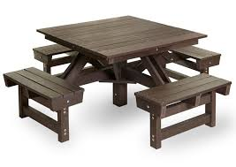 Plastic Wood Chairs Eco Sustainable Furniture Durable Material Eco Plastic Wood