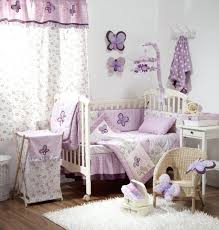 Lilac Nursery Curtains Imposing Pictures Beautiful Baby Bedding Sets Bedroom Nursery