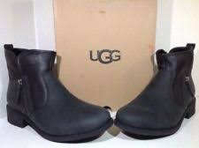 ugg womens quilted boots ugg boots zaire quilted black s size 10 ebay