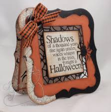 halloween picture frame crafts io sept blog hop 1 jpg