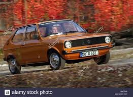 hatchback cars 1980s car polo gls model year 1975 1981 brown orange old car 1970s