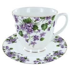 teacups with saucers