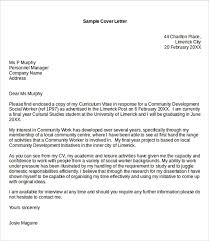 work cover letter sample