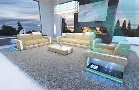 mobilier de canape canapé imperial 3 2 1 led nativo mobilier design