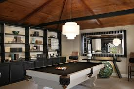 Pool Room Decor Living Room With Pool Table Family Room Contemporary With Dave