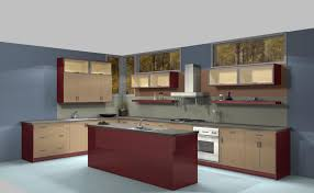 kitchen design ideas framing your cabinets with different colored