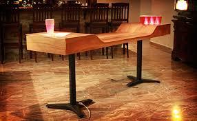 custom beer pong tables custom beer pong table uncrate