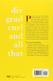 buy div grad curl and all that an informal text on vector