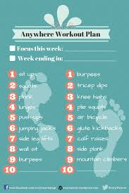 free printable am pm workout plan veryvalerie