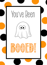 halloween gift tags you u0027ve been booed free printable tags u0026 ideas