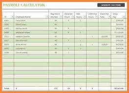 Payroll Spreadsheet Template Free 7 Payroll Spreadsheet Template Costs Spreadsheet