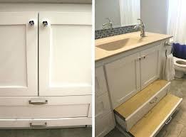 bathroom vanity with step stool u2013 chuckscorner