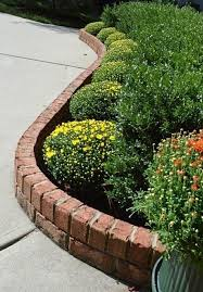 Flower Bed Edger Brick Flower Bed Edging How To Make A Flower Bed Edging In Your