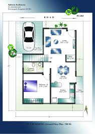 Amazing 15 20 X 25 House Plans 20x24 Floor Plan W 2 Bedrooms Homeca