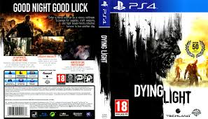 dying light ps4 game dying light dvd cover 2015 ps 4