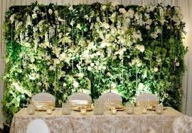 wedding backdrop vancouver greenscape design faux living wall wedding backdrop ideas