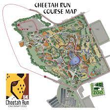 Map Of Cincinnati Ohio by Cheetah Run The Cincinnati Zoo U0026 Botanical Garden