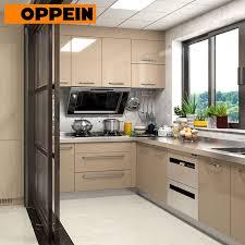 modern kitchen cabinets sale oppein stainless steel modern kitchen cabinets for sale op17 st02