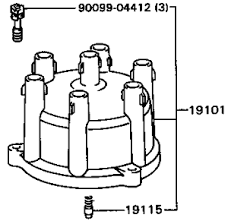 ford points distributor to coil wiring diagram ignition coil