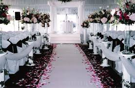 black and white wedding decorations creative of wedding decoration black and white black wedding