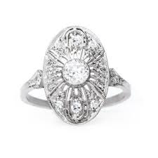 vintage inspired engagement rings mine cut ring get yours from trumpet horn