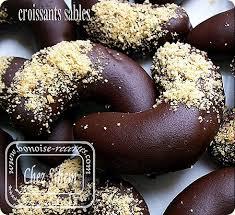 amour cuisine chez sihem croissants sablés au noisettes café vanille est chocolat