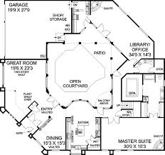 home plans with courtyards courtyard style house plans courtyards small modern