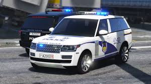 land rover chinese chinese police range rover vogue gta5 mods com