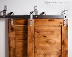 Hardware For Barn Style Doors by Barn Closet Doors Double Diy Barn Door Track Tutorial Would Be