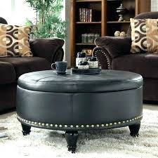round tufted coffee table round tufted ottoman coffee table croosle co
