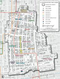 Los Angeles District Map by Style By Erin L A Fashion District Is Pretty Sweet