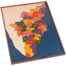 Tamil Nadu Map Map Puzzle Tamilnadu Kidken Edu Solutions