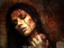 halloween background portrait dark art artwork fantasy artistic original psychedelic horror evil